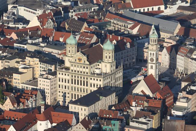 Ballonfahrt in Augsburg